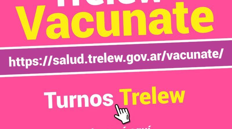 Salud explicó cómo funciona la web que confirma los turnos para vacunarse contra el COVID-19 en Trelew