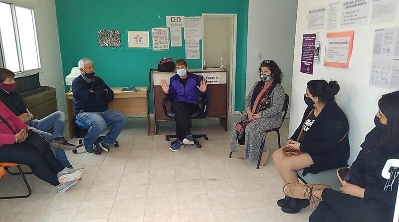 Se dictó en Rawson la segunda jornada de capacitación para padres de personas con discapacidad